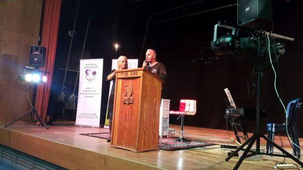 נציג ראש העיר, דובר העירייה מר אילן אוחנה, נושא דברים